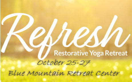 Refresh Yoga Retreat at Blue Mountain